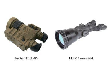 Порівняння тепловізорів FLIR Command і Archer TGX-8V